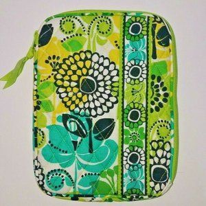 Vera Bradley E-Reader Sleeve Limes Up Lime Green